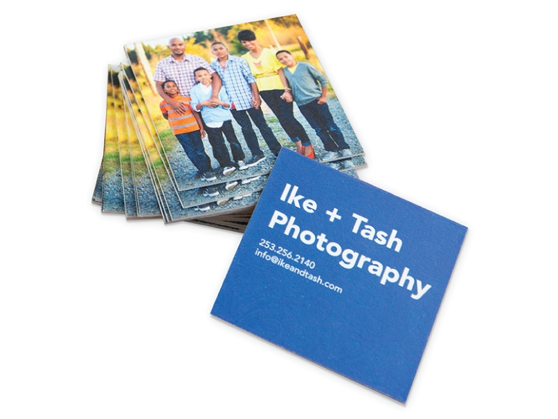 Family Photograph Photographer Business Cards Printed on  LOFT Extra Thick
