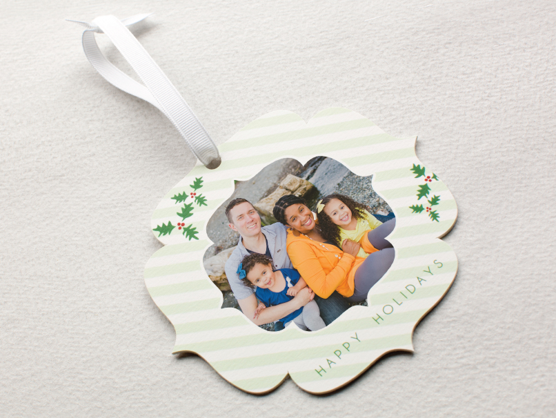 Family Portrait Printed on LOFT Ornament - 6 Shapes