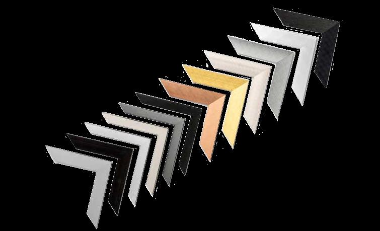 Framed Print Metal Frame Corner Set
