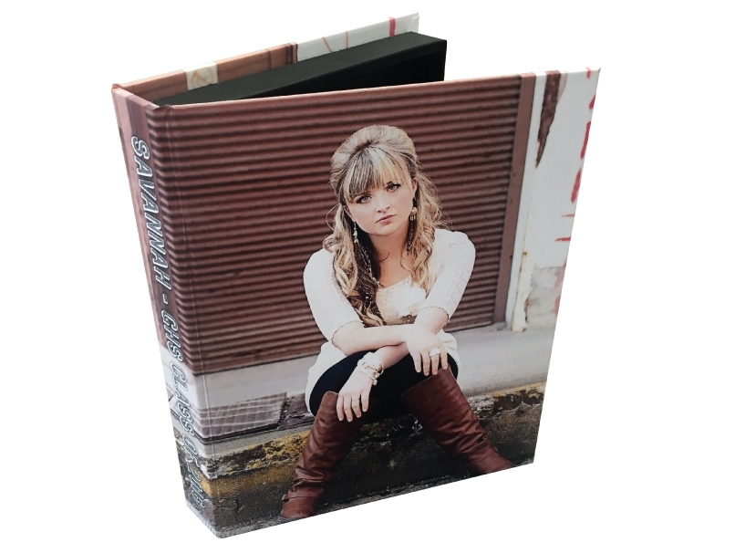 Senior Photo Custom Photo Cover for Folio Image Box