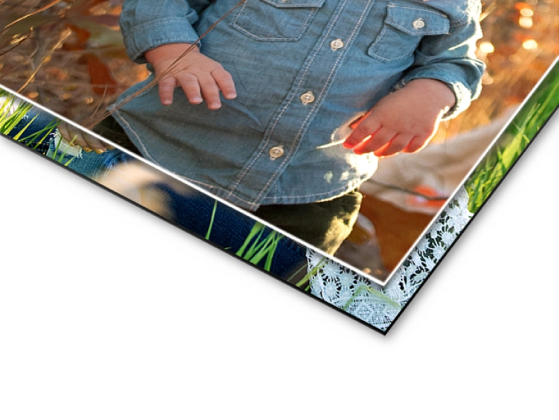 Child Portrait Printed Mounted on Foamboard Inexpensive & Warp-resistant Mounting