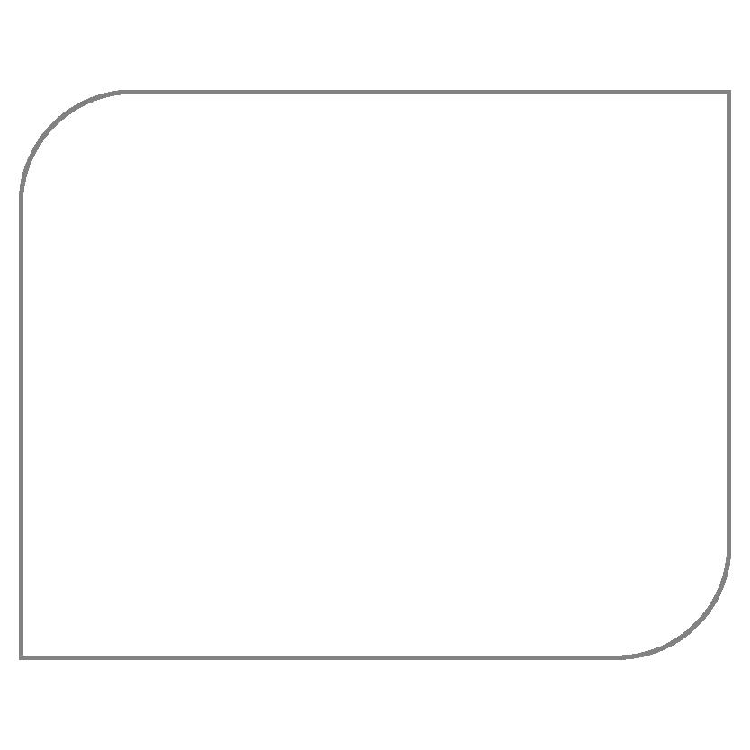 Rectangular Shaped Metal Print CE24