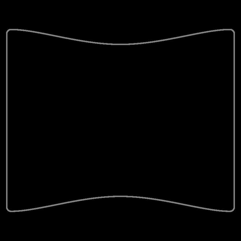 Rectangular Shaped Metal Print CE43