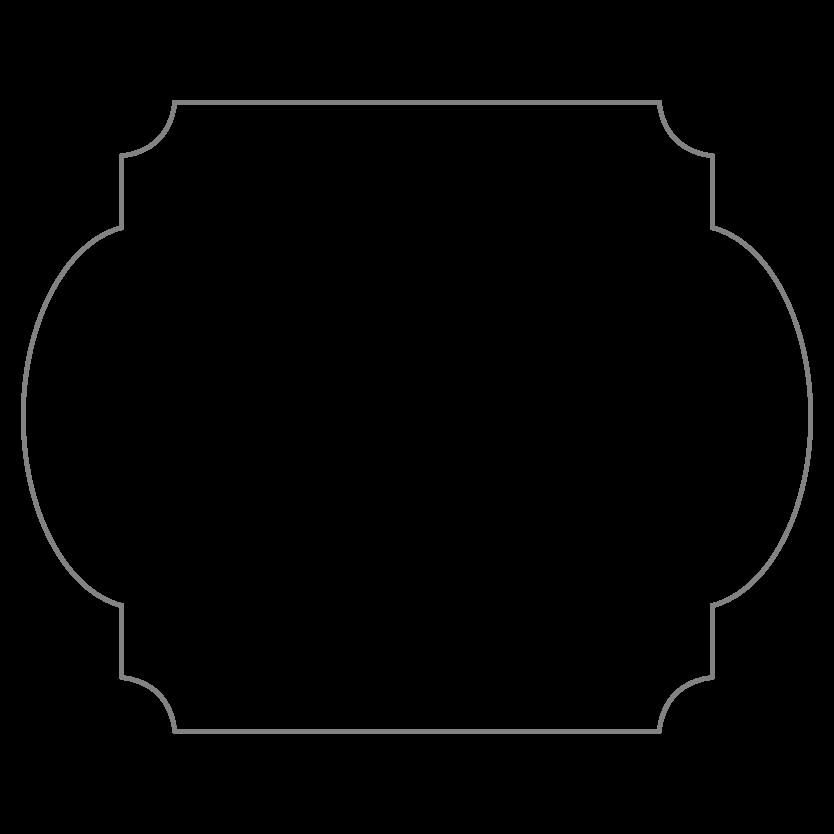 Rectangular Shaped Metal Print CE45