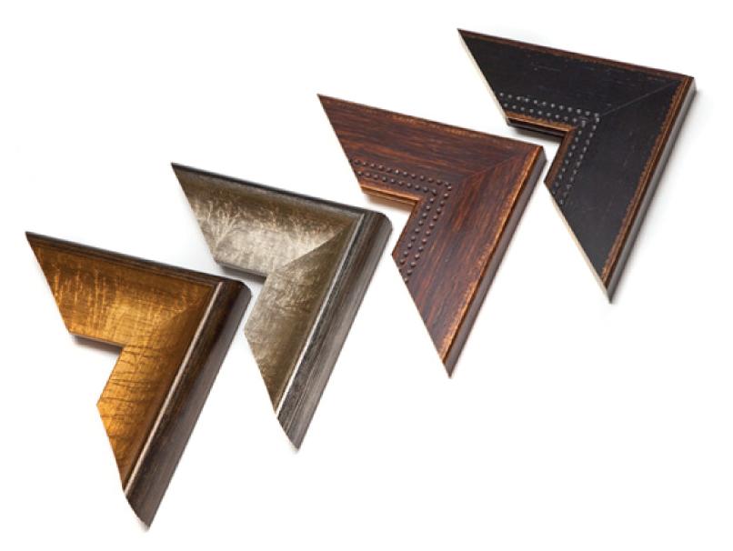 Framed Metal Print Rustic & Modern Frame Corner Samples