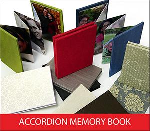 Accordion Memory Book Sample Image
