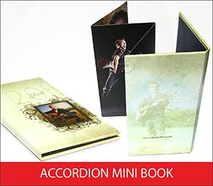 Accordion Mini Book Sample Image