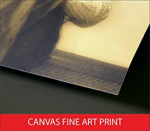 Canvas Fine Art Print Sample Image