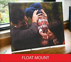 Float Mount Sample Image