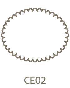 Shaped Metal Print Shape CE02