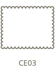 Shaped Metal Print Shape CE03
