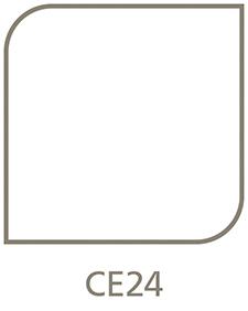 Shaped Metal Print Shape CE24