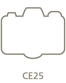 Shaped Metal Print Shape CE25