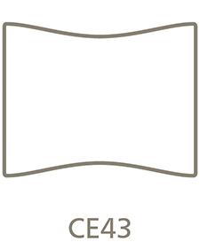 Shaped Metal Print Shape CE43