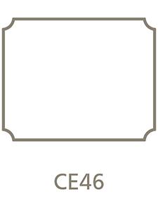 Shaped Metal Print Shape CE46