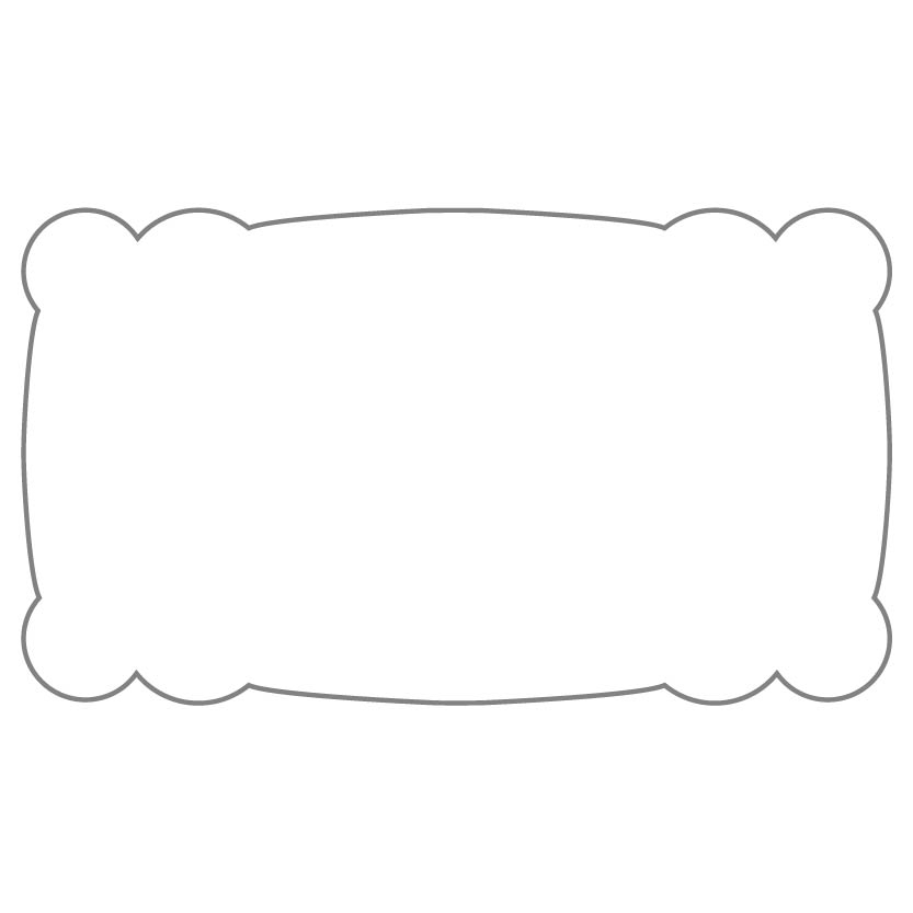 Rectangular Sticker Shape 11