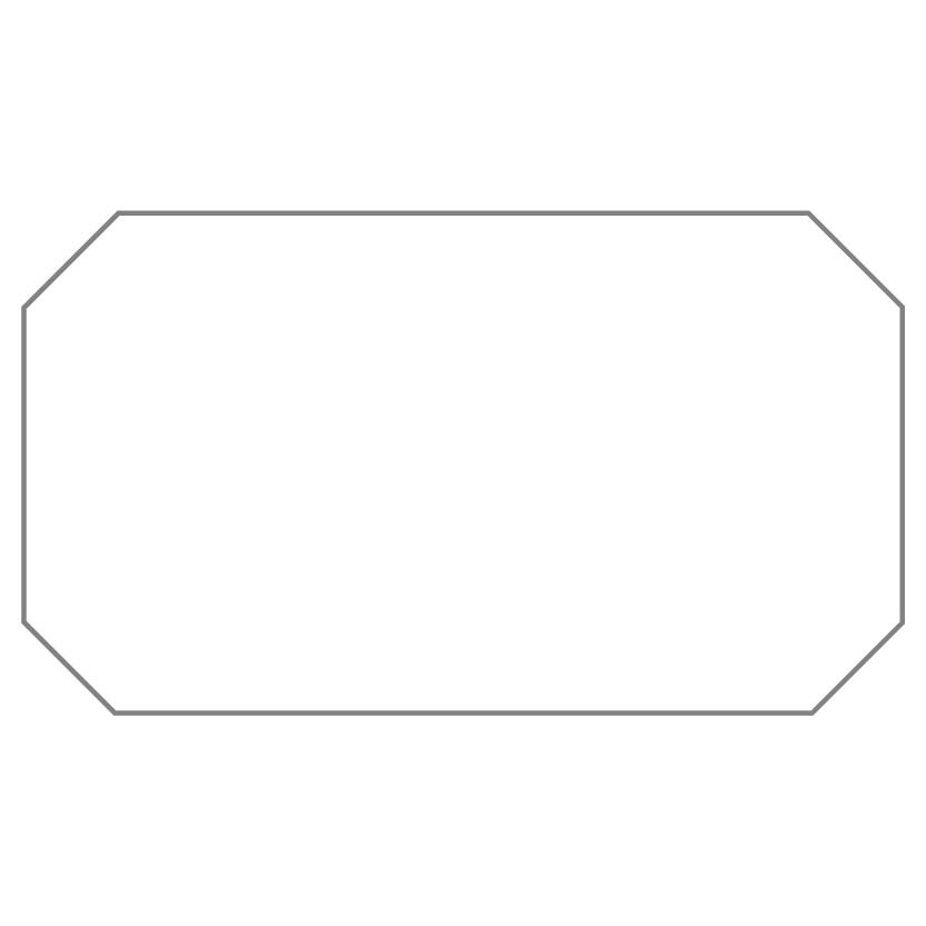 Rectangular Sticker Shape 12