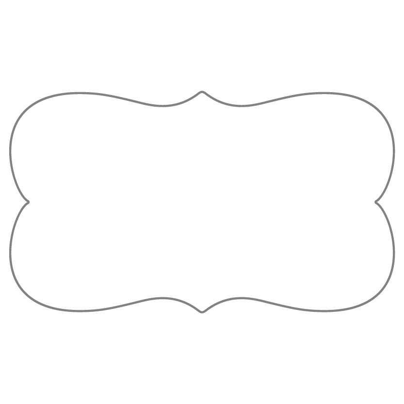 Flat Business Card Shape 25