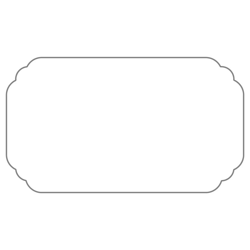 Flat Business Card Shape 4