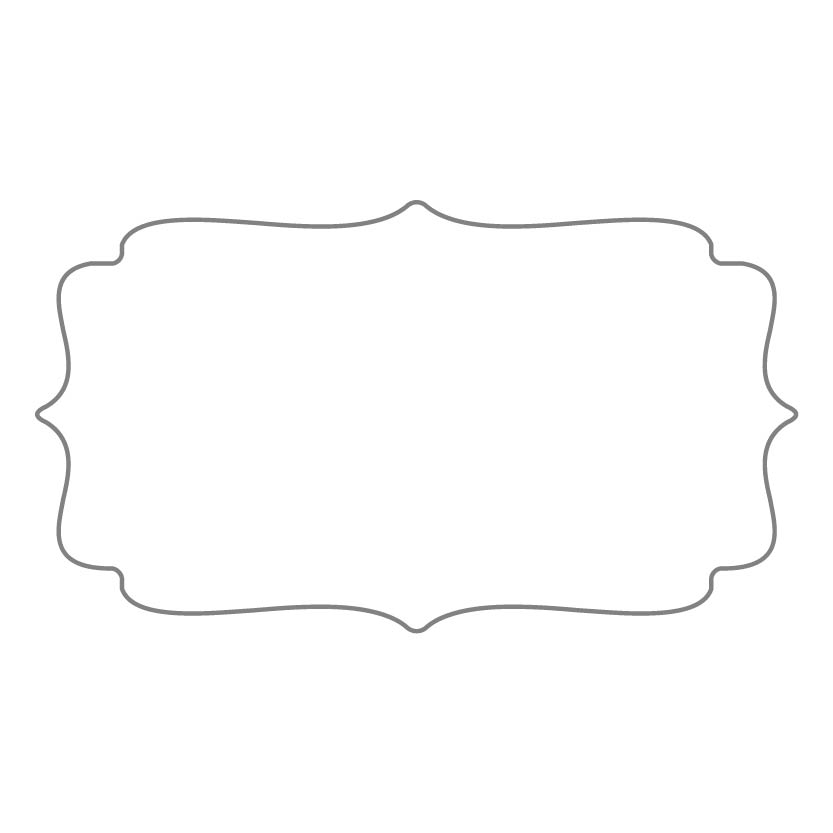 Rectangular Sticker Shape 6