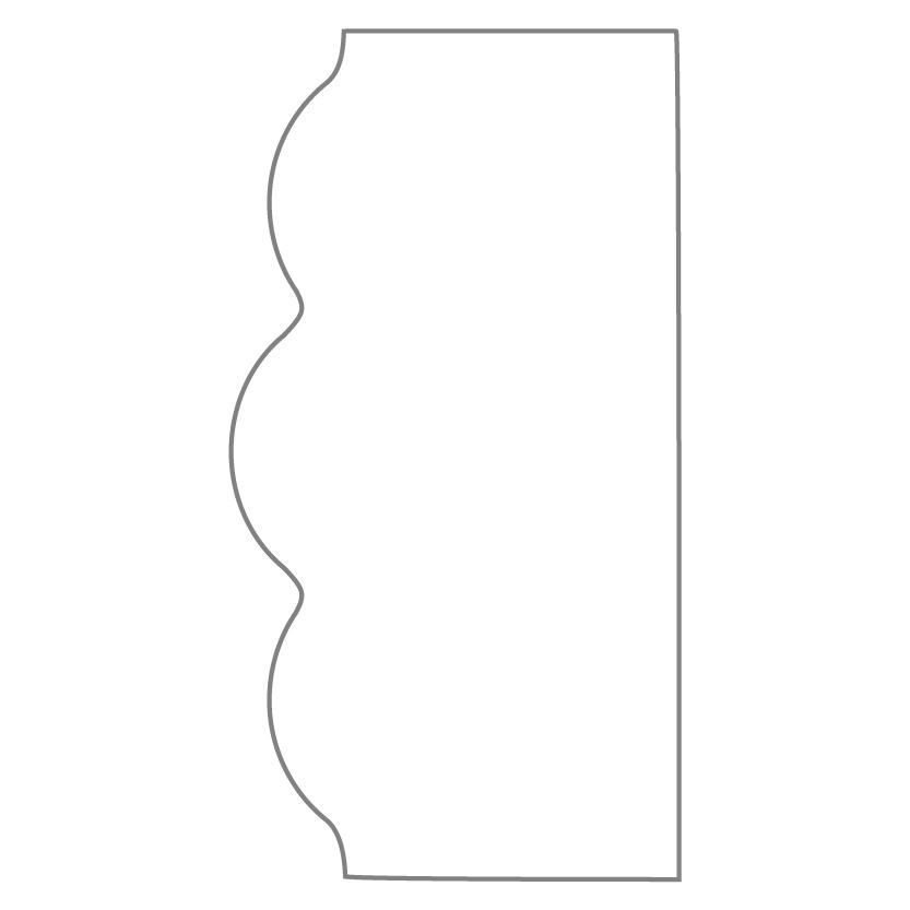 Bi-Fold & Tri-Fold Card Shape 27
