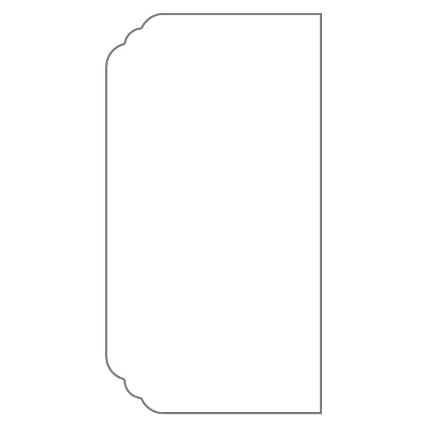 Bi-Fold & Tri-Fold Card Shape 4