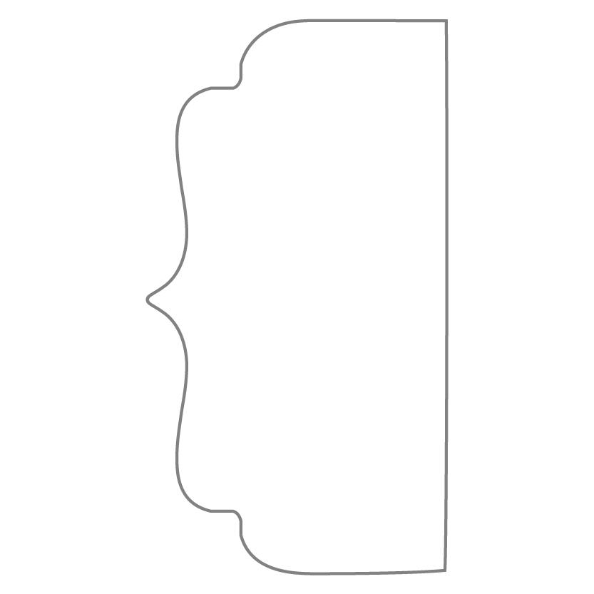 Bi-Fold & Tri-Fold Card Shape 6