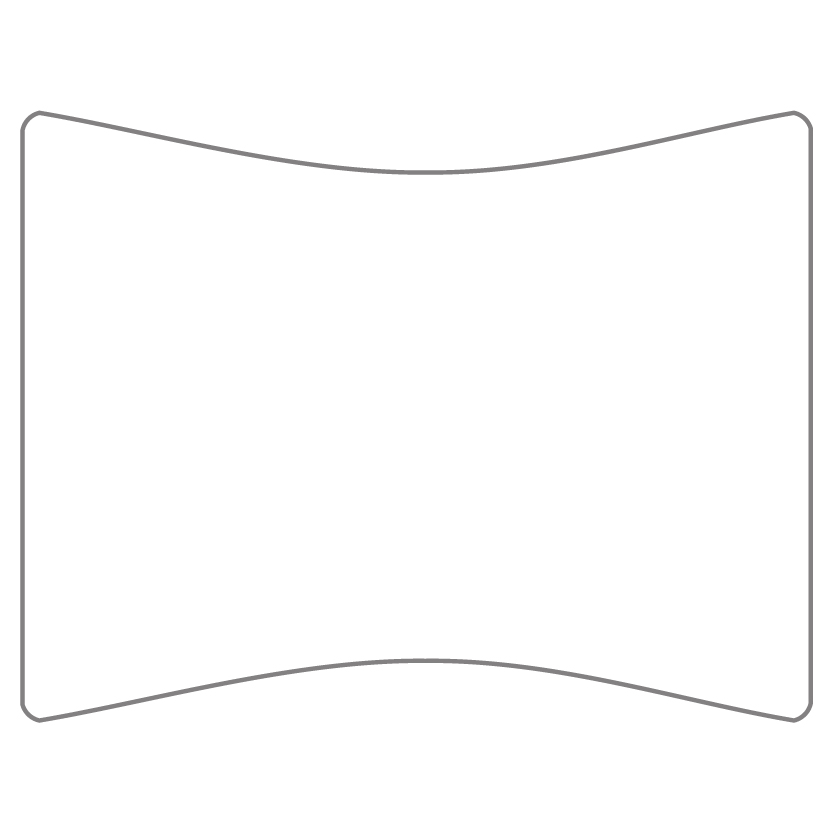 Flat Card Shape 16