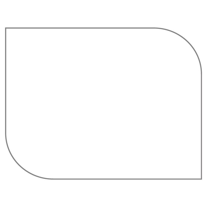 Flat Card Shape 22
