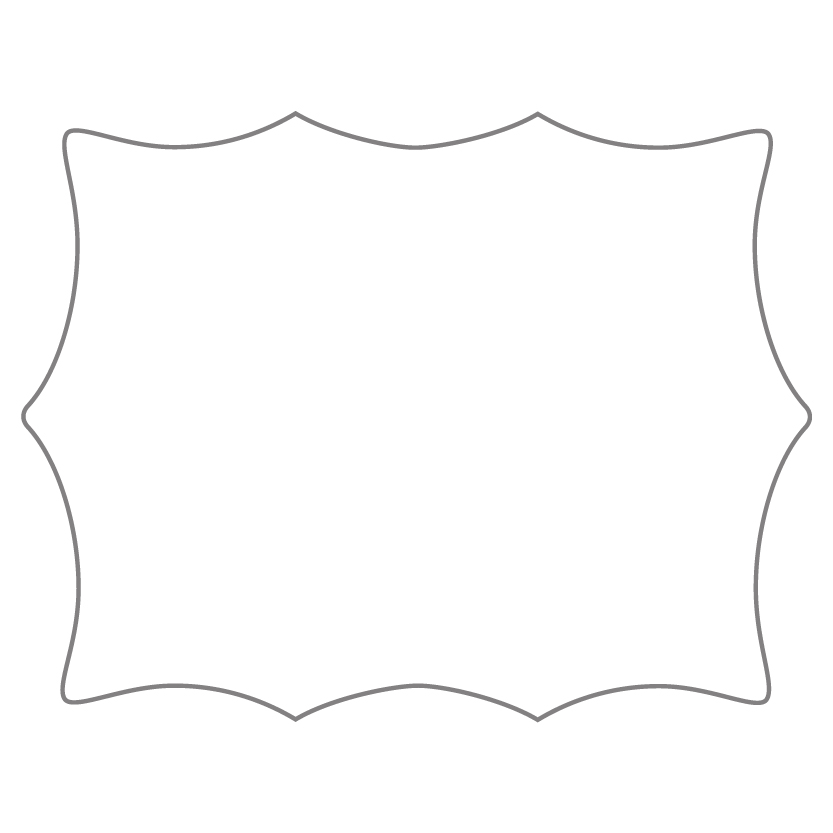 Flat Card Shape 26
