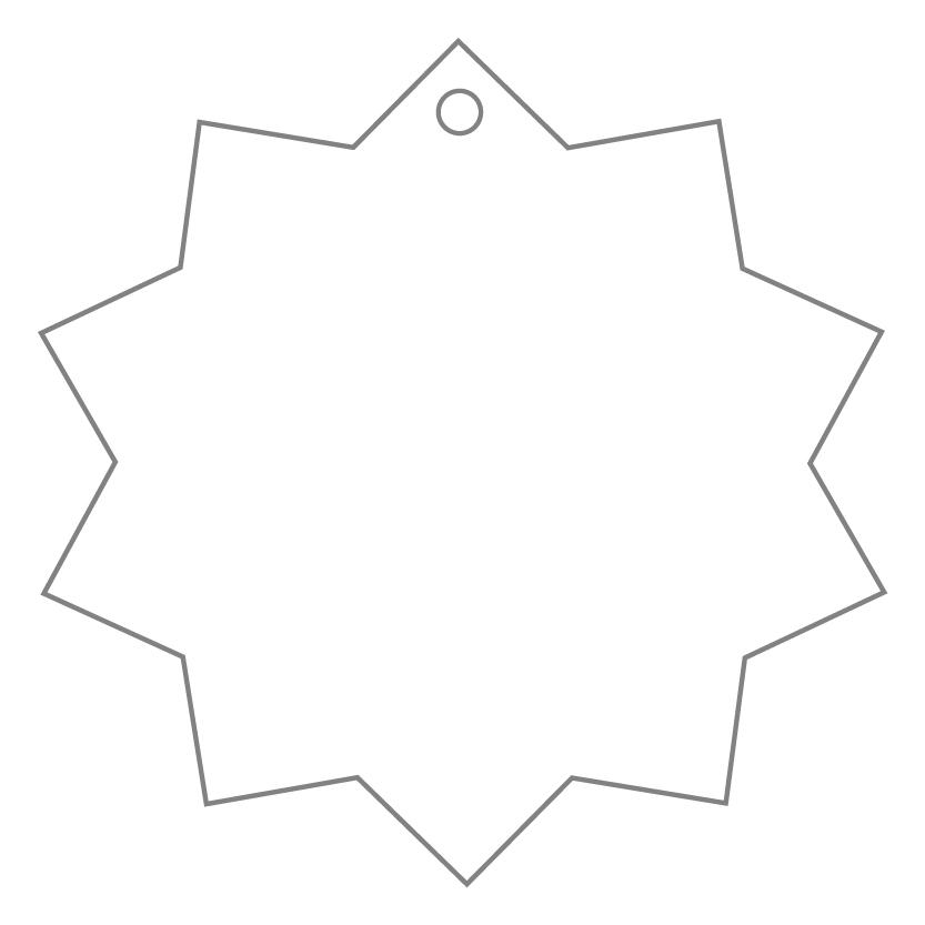 Flat Card Shape 34