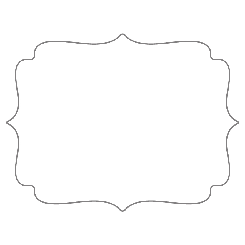Flat Card Shape 6