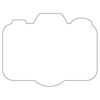Rectangular Sticker Shape 8