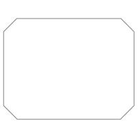 Rectangular Sticker Shape 12