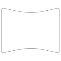 Rectangular Sticker Shape 16