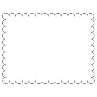 Rectangular Sticker Shape 21