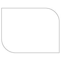 Rectangular Sticker Shape 22