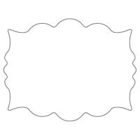 Rectangular Sticker Shape 27
