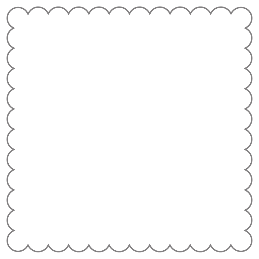 Square Shaped Metal Print CE03