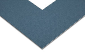 Steel Blue Mat