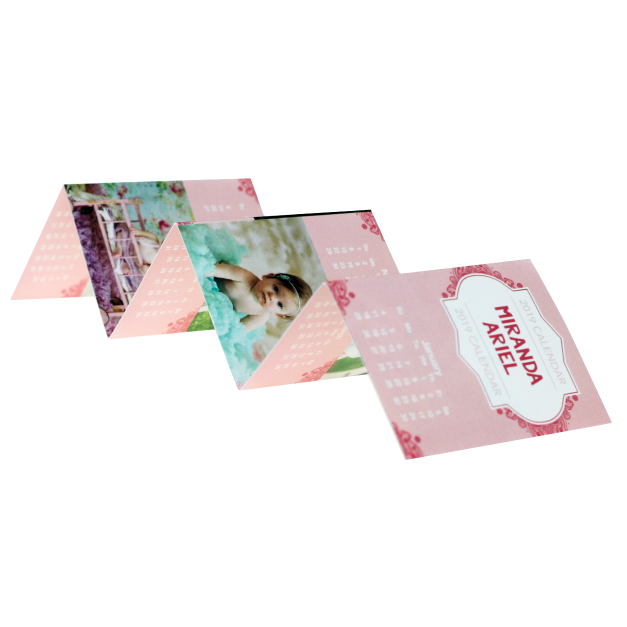 Baby Photos Printed on Accordion Wallets