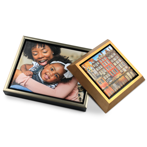 Thumbnail of Little Girl Portrait printed on Canvas Gallery Wrap