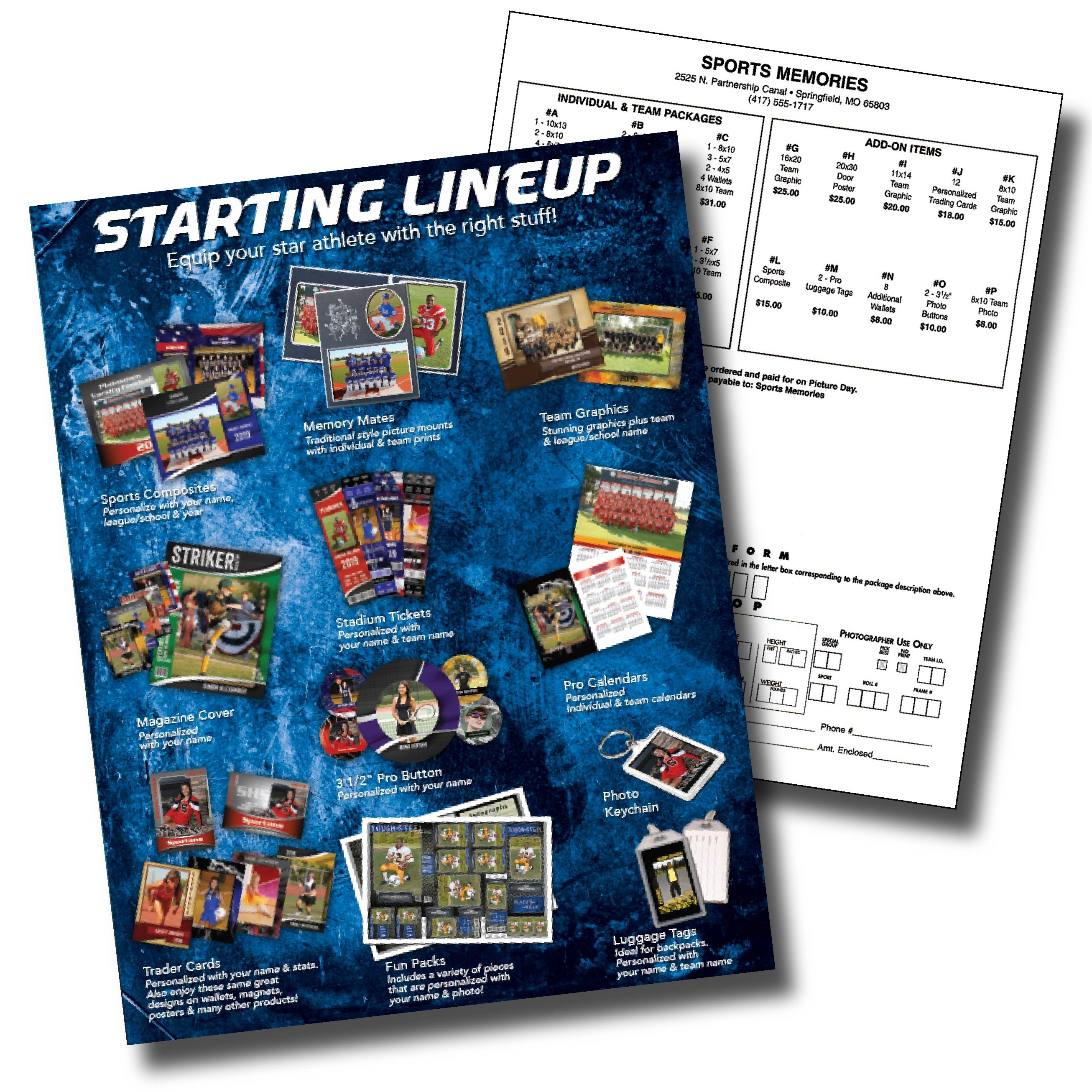 Starting Lineup Sports Money Envelopes