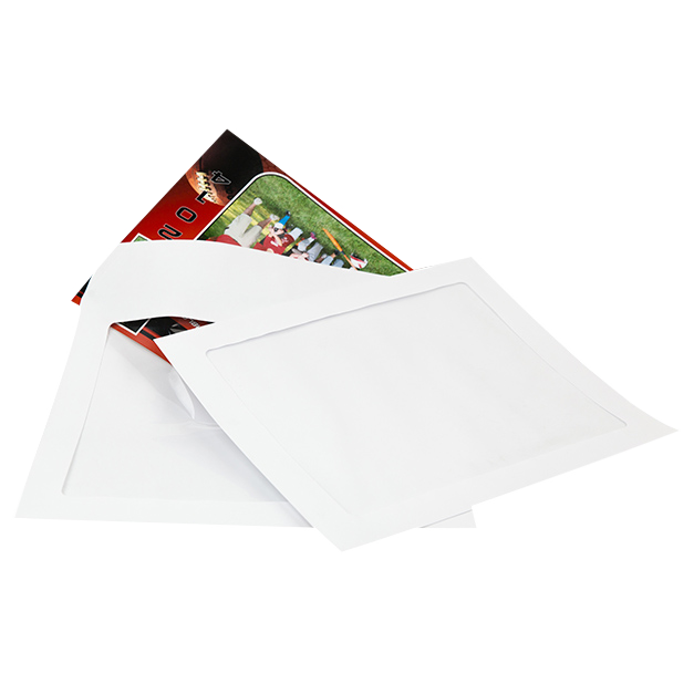 White Window Envelope with Sports Memory Mate Inside