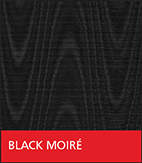 Black Moiré Fabric