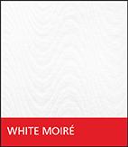 White Moiré Fabric