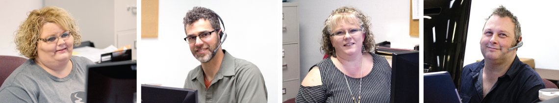 Images of Black River Imaging Customer Service Representatives at their Desks